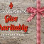Anderson's Four Good Reasons To Give Charitably, Aside From Tax Deductions