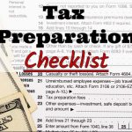 CL Anderson & Associates, PC's 2017 Tax Preparation Checklist
